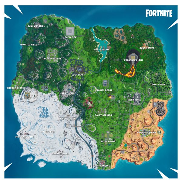 , Fortnite Season X map changes: Dusty Depot is back and new rift zones will alter the map