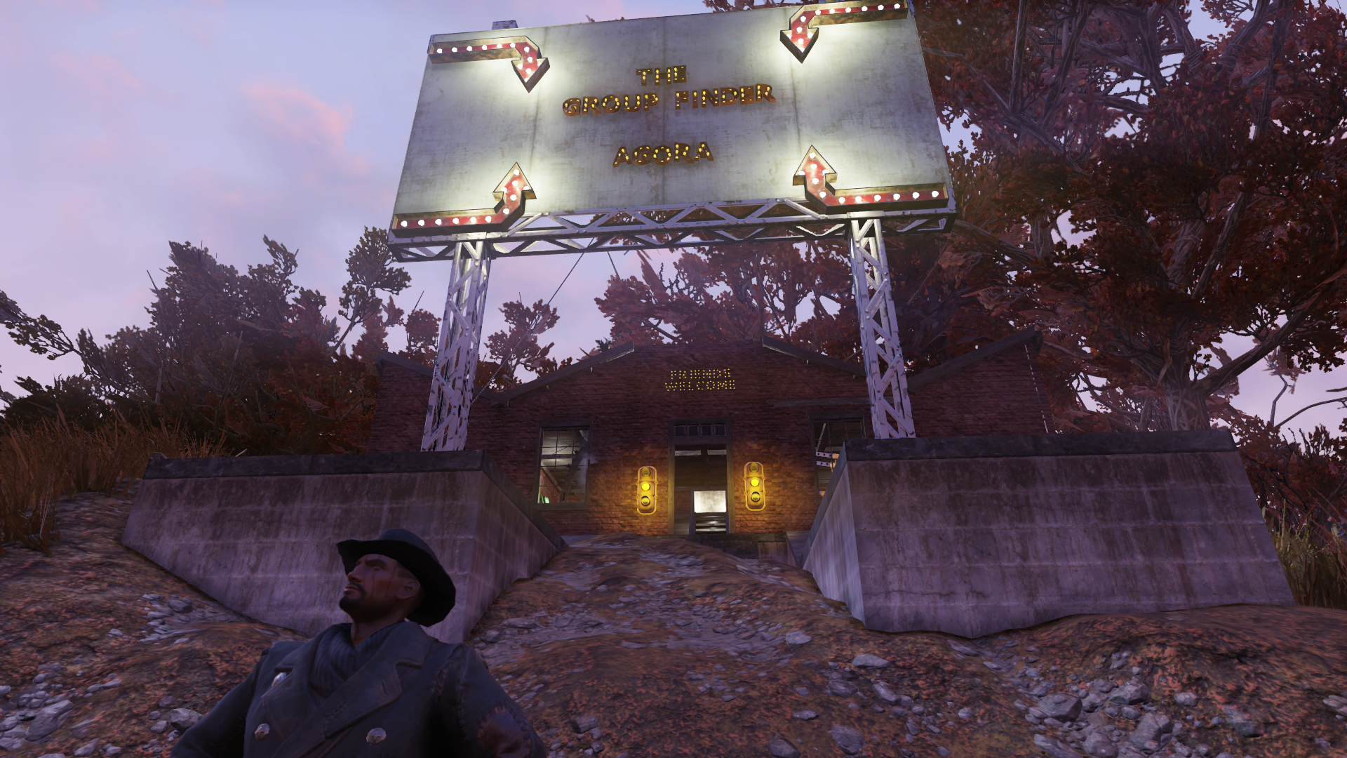 Fallout 76 player sets up a base-camp for the incoming raid - VG247