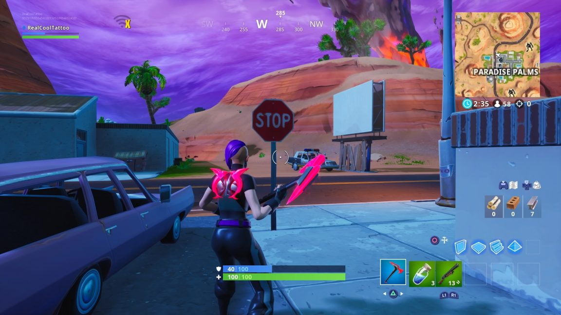 , Fortnite: Stop Sign Locations – VG247