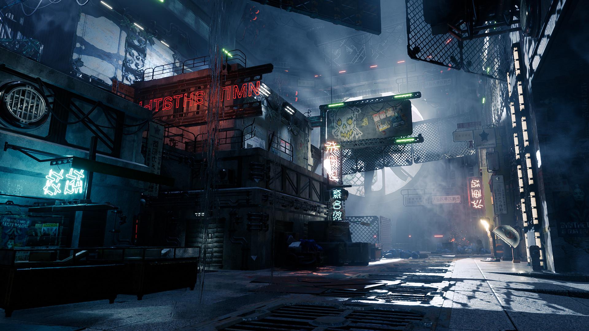 Watch the trailer for free-running cyberpunk stabber Ghostrunner - VG247