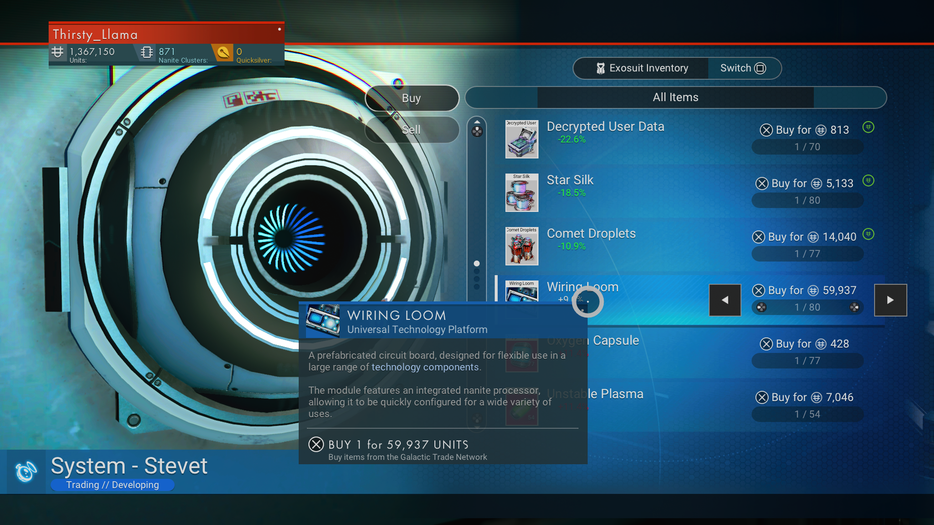 No Man's Sky: Beyond Power guide - how to get a Wiring Loom ... on