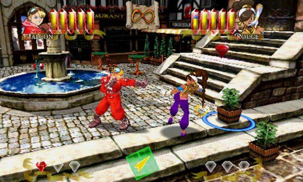 Power Stone gameplay capcom