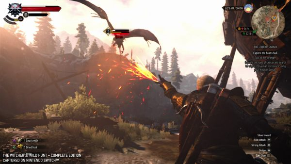 Of course The Witcher 3 looks blurrier on Switch – but it's still brilliant