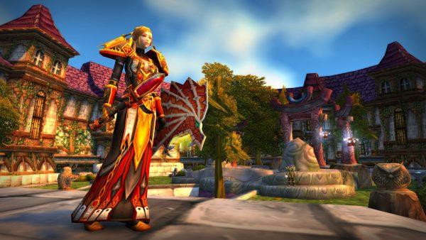 World of Warcraft Classic Stormwind Paladin