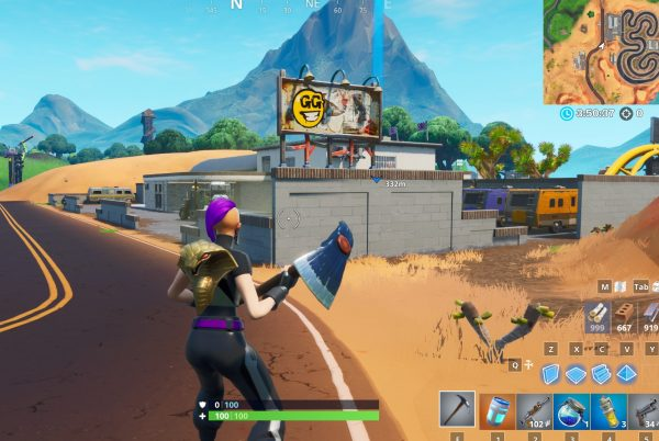 , Fortnite: collect 100 of each material within 60 seconds of landing, AllYourGames.com, AllYourGames.com