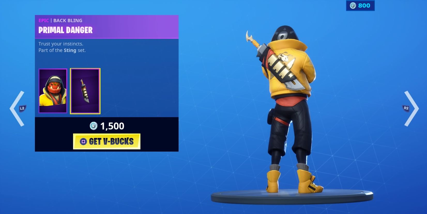 , Macabre Bone Wasp skin buzzes onto the Fortnite Item shop alongside the Sting Set, AllYourGames.com, AllYourGames.com