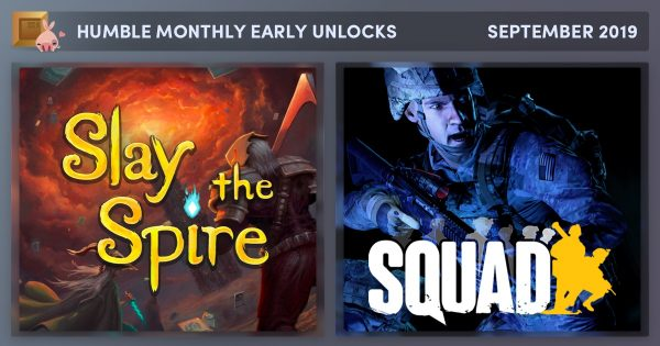 The latest Humble Monthly bundle features Slay the Spire and