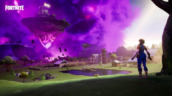 , Fortnite v10.20 content update adds floating island, Zapper Trap and Flush Factory prefab