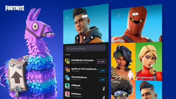 , Fortnite v10.31 update adds Party Hub app for mobile, AllYourGames.com, AllYourGames.com