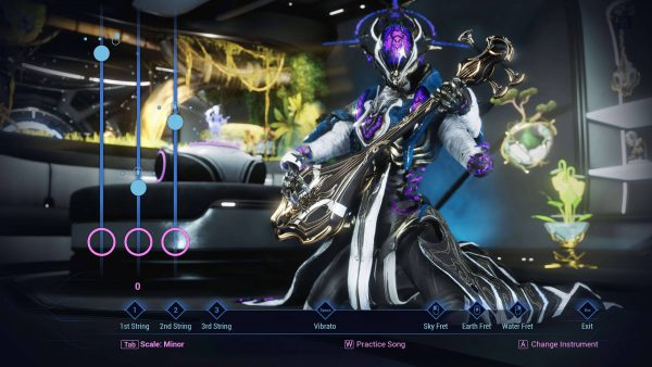 Warframe's Saint of Altra update adds an ultra-fast suit and, uh, a guitar minigame