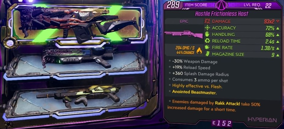 Borderlands 3 How To Farm Anointed And Legendary Weapons Vg247