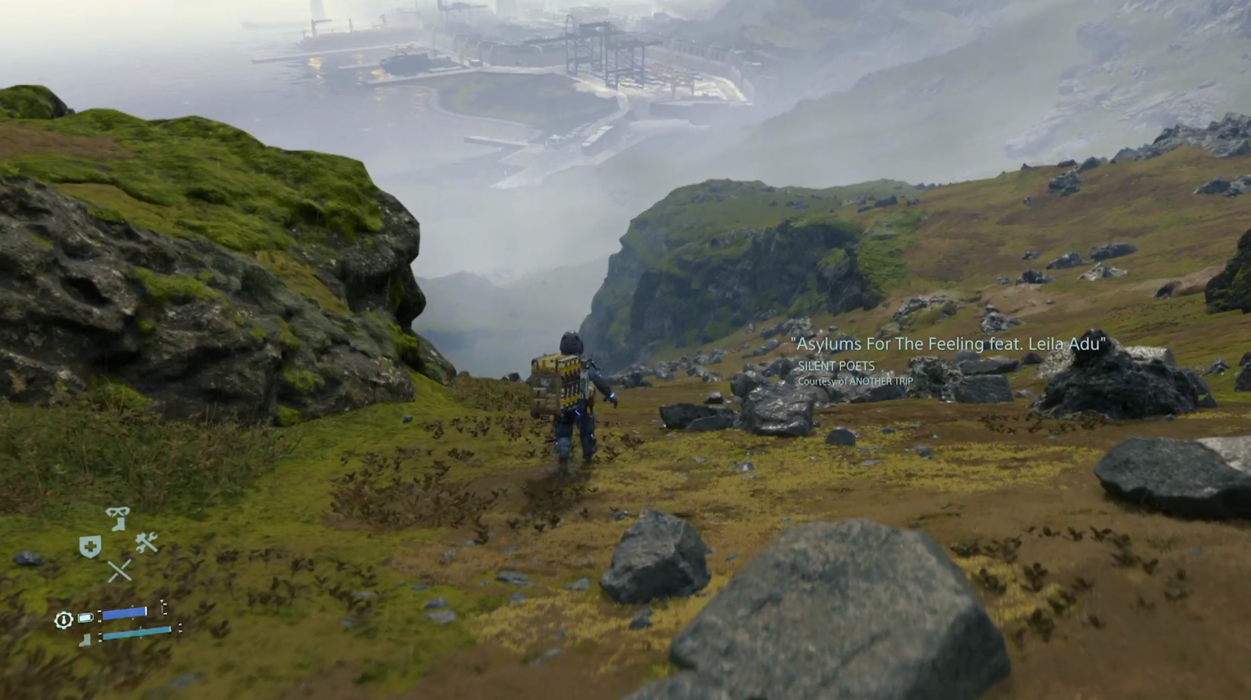 Death Stranding is a game about delivering items for Facebook 'likes' - how the Strand System works - VG247