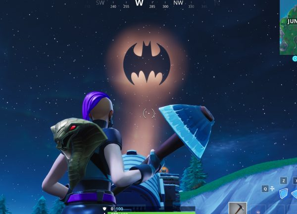 , Fortnite: Light up different Bat Signals outside of Gotham City, AllYourGames.com, AllYourGames.com