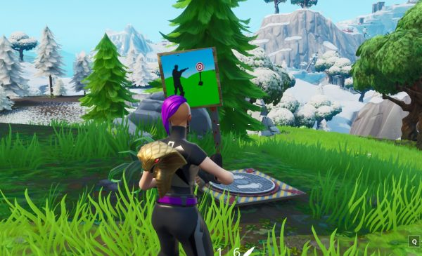 , Fortnite: Hit an easy and hard firing range target, AllYourGames.com, AllYourGames.com