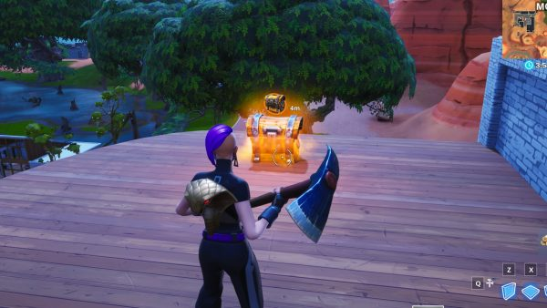 , Fortnite: Mark a chest, a shield item and a healing item in a single match, AllYourGames.com, AllYourGames.com