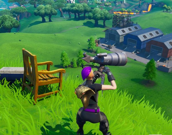 , Fortnite: Dance at different telescopes in a single match, AllYourGames.com, AllYourGames.com