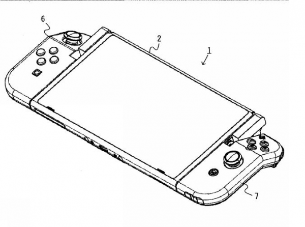 Nintendo has filed patents for a hinged, bendy Joy-Con