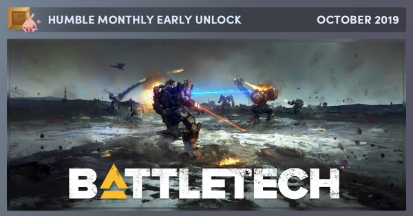 Battletech is just $12 in the October Humble Monthly Bundle
