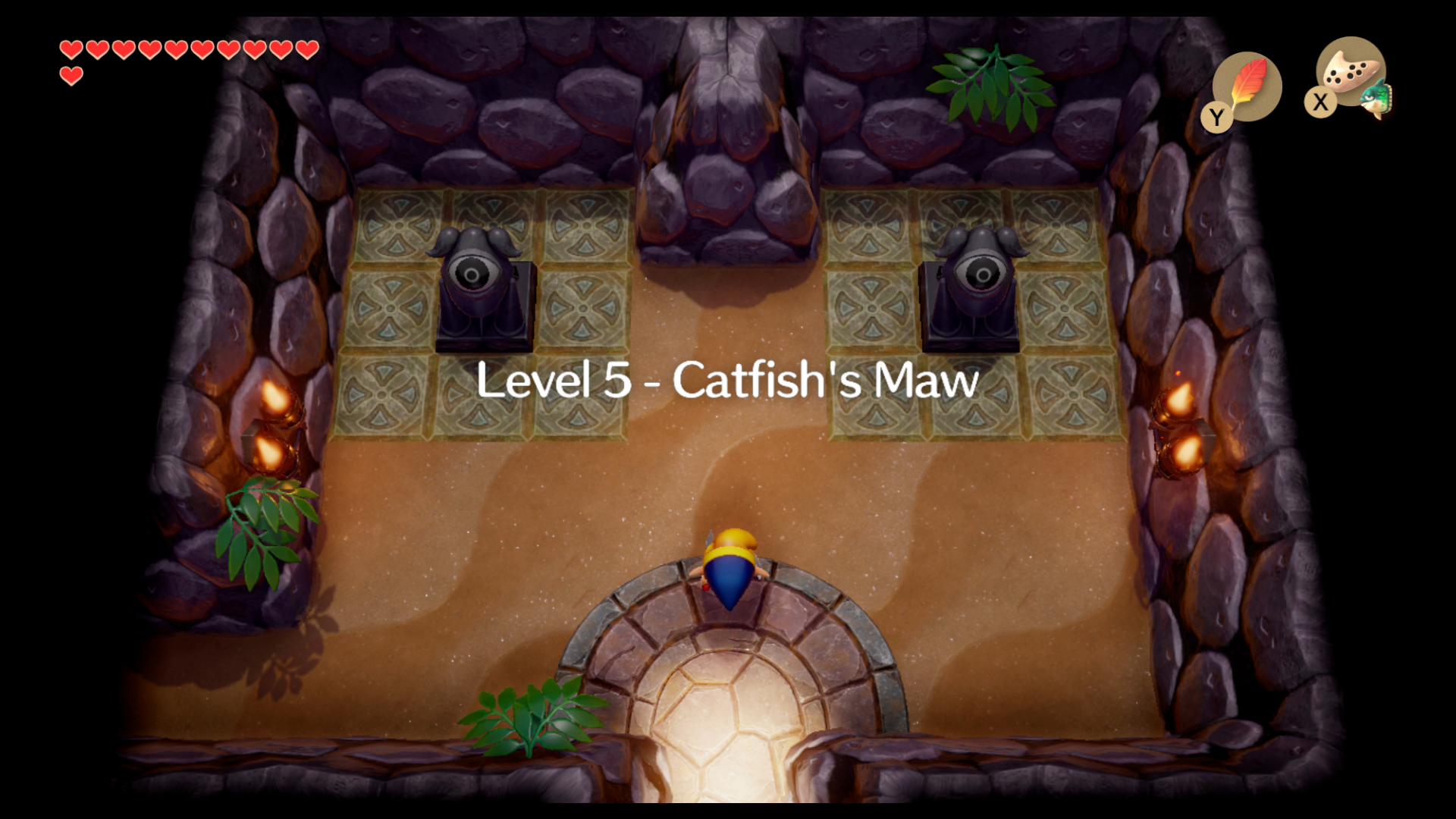 Zelda Link S Awakening Catfish S Maw Walkthrough And