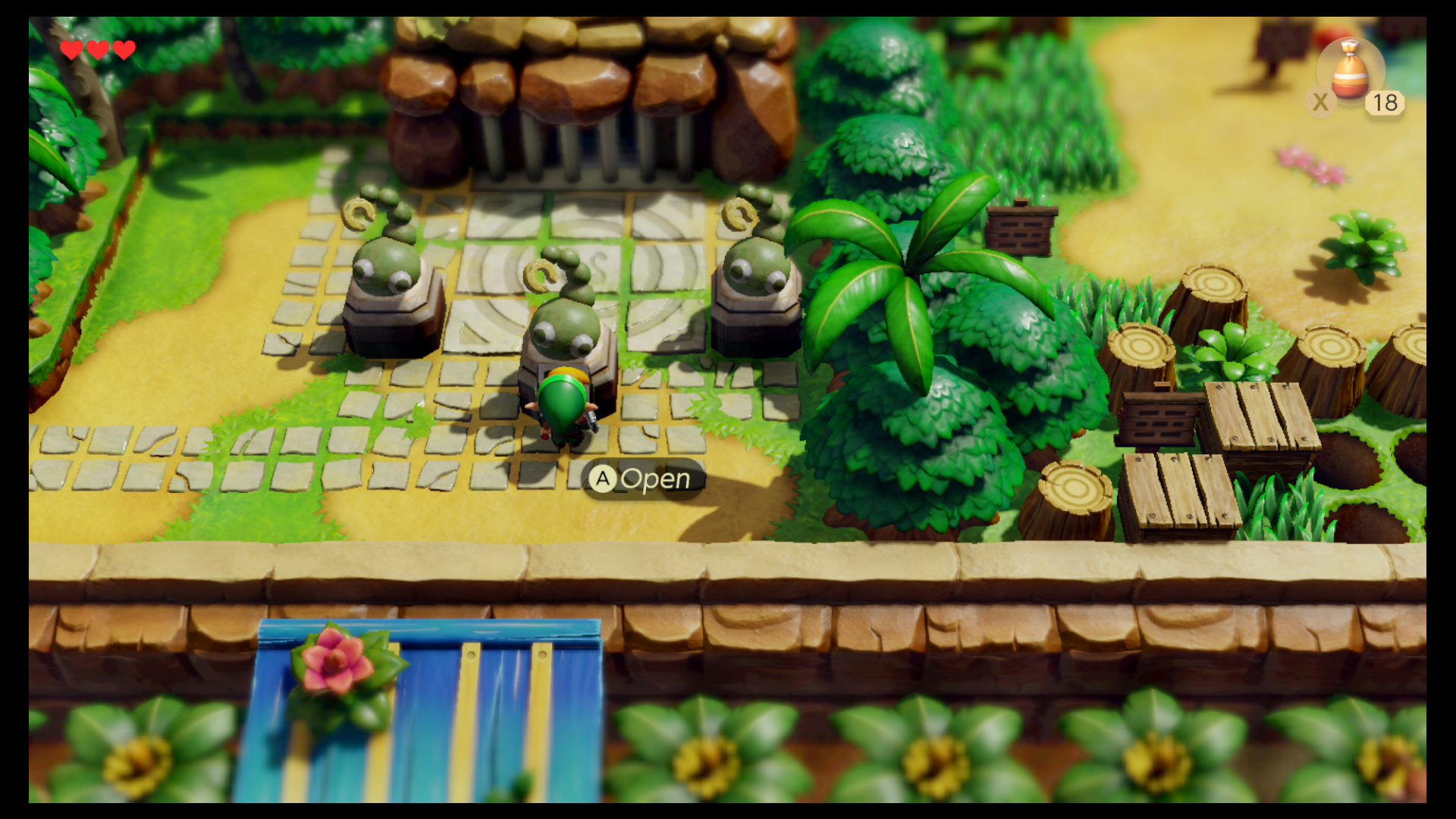 Zelda Link S Awakening Tail Cave Introduction Walkthrough