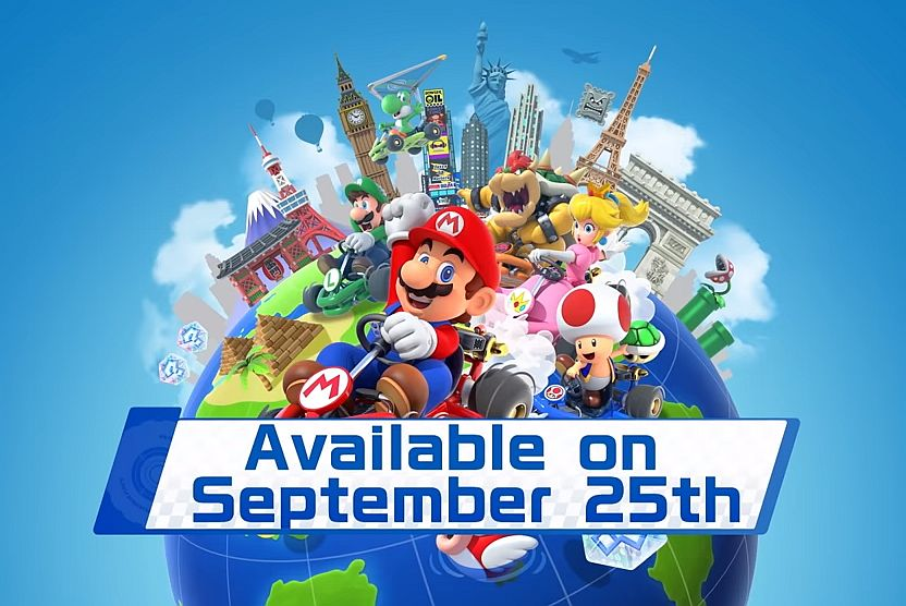 Mario Kart Tour Will Release Alongside Its First Tour Location And