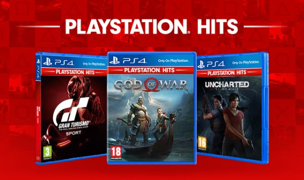 God of War, Uncharted: The Lost Legacy and Gran Turismo Sport are joining the budget PlayStation Hits range