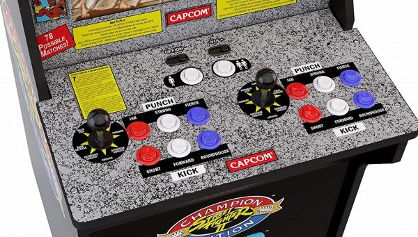 Own your own Street Fighter 2 arcade cabinet for less than $200