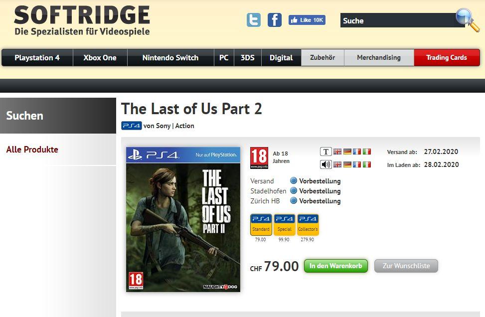 Resultado de imagem para the last of us part II release date 28 february
