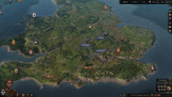 Crusader Kings 3 map screenshot