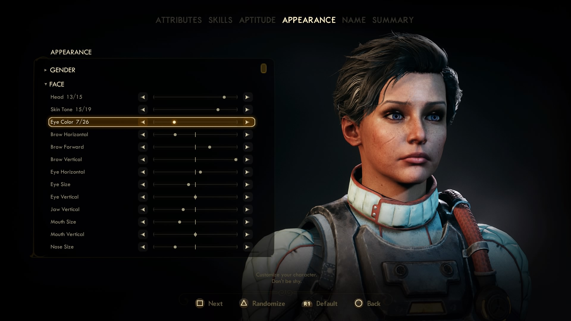 The Outer Worlds Character Creation - Which Attributes, Skills ...
