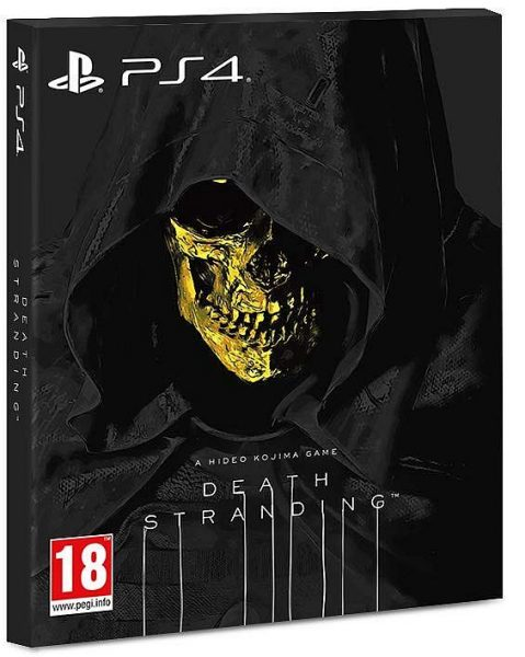 Death Stranding standard edition with Higgs cover variant is an Amazon UK exclusive