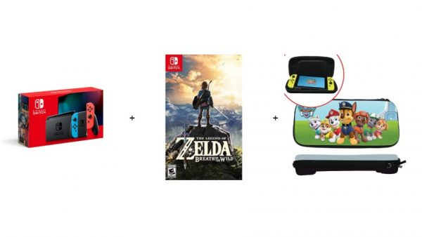 Here S A Terrific Nintendo Switch Bundle For Just 329 Ahead