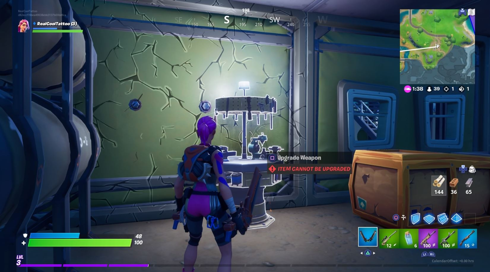 Fortnite Upgrade Bench Locations Swap Materials For Better