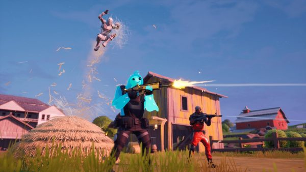 Fortnite's dumpsters are sending players into orbit