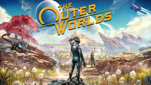 The Outer Worlds launch trailer is all about human duality and T. Rex