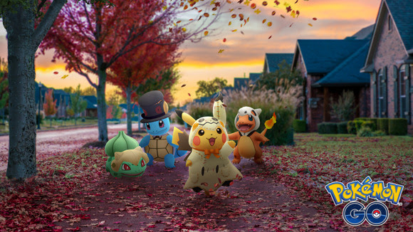 Pokemon Go Halloween event brings Pokemon in costumes, new shinies and bonuses