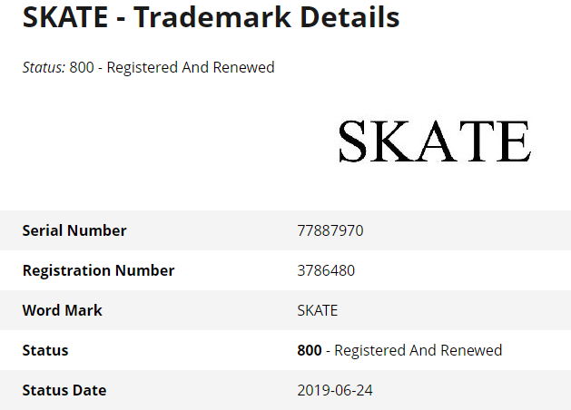 Skate Trademark Abandoned By EA, Leaving Little Hope for Skate 4