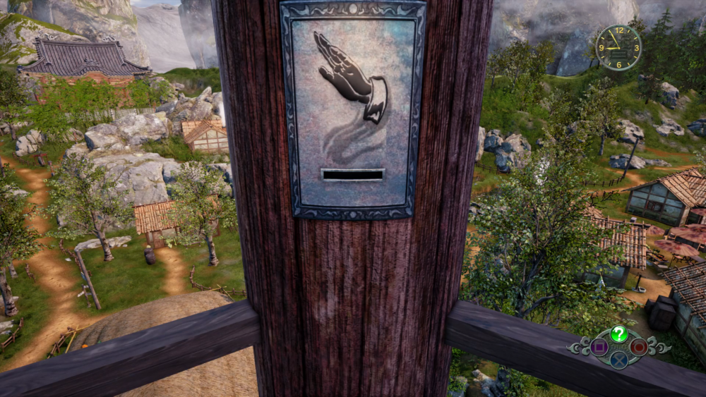 Shenmue 3 bell tower symbols