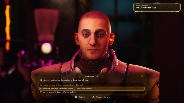 The Outer Worlds can be beat without killing anyone