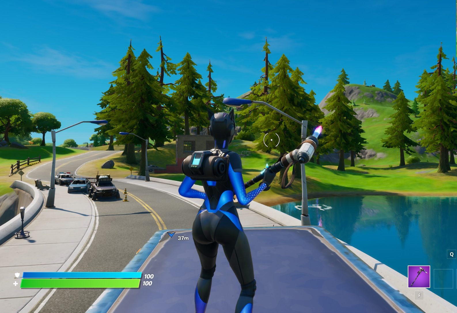 Fortnite Chapter 2 Where To Find The Letter E Vg247