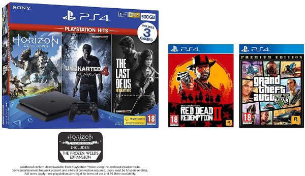 Amazon Uk Has The Best Ps4 Black Friday Deal Yet Including 5 Games Vg247