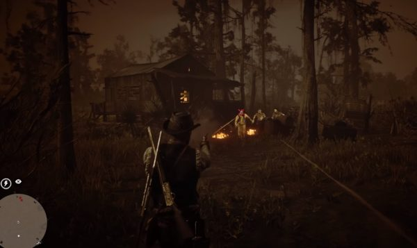Red Dead Redemption 2: A Fine Night For It Stranger Mission – Help Old Cajun reclaim his home