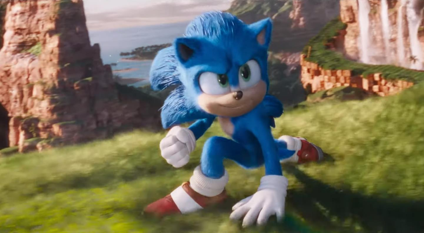 Sonic The Hedgehog Looks Good In The New Movie Trailer Because Sonic Mania S Tyson Hesse Redesigned His Look Vg247