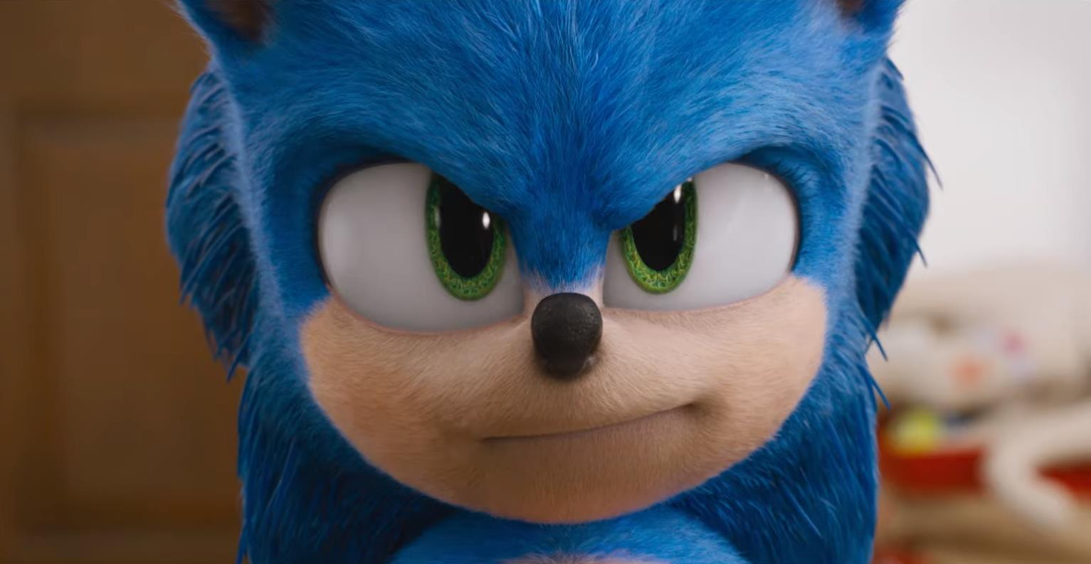 Here S Our First Look At The Updated Sonic The Hedgehog Design In The New Movie Trailer Vg247
