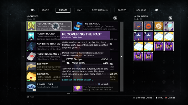 Destiny 2: Season of Dawn – Comment terminer la récupération du passé et obtenir le fusil de chasse Perfect Paradox de Saint-14 Destiny 2 20191211095836 600x338