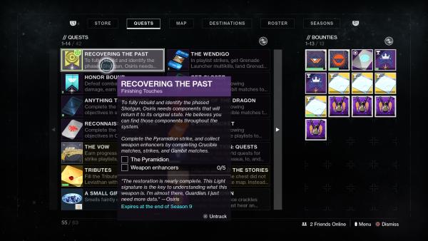 Destiny 2: Season of Dawn – Comment terminer la récupération du passé et obtenir le fusil de chasse Perfect Paradox de Saint-14 Destiny 2 20191211103458 600x338