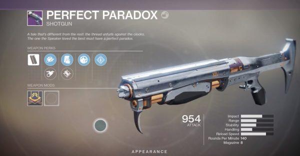 Destiny 2: Season of Dawn – Comment terminer la récupération du passé et obtenir le fusil de chasse Perfect Paradox de Saint-14 destiny perfect paradox 600x313