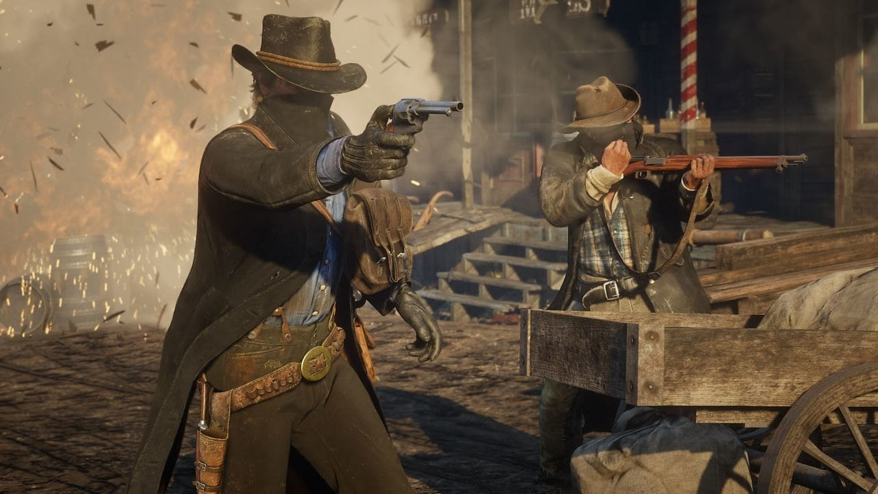Red Dead Redemption 2 looks like Sim City in this cool miniaturised video - VG247