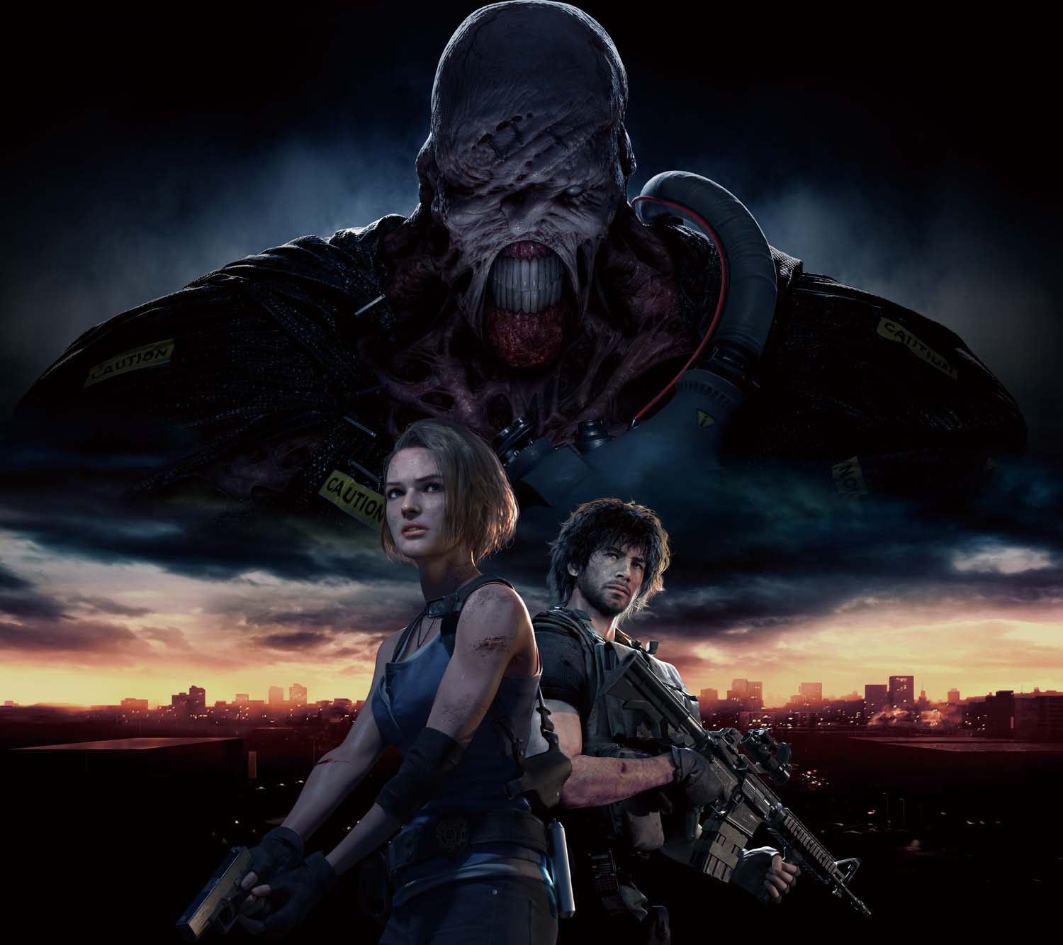 Leaked screenshots from the Resident Evil 3 remake show off its terrifying enemies - VG247
