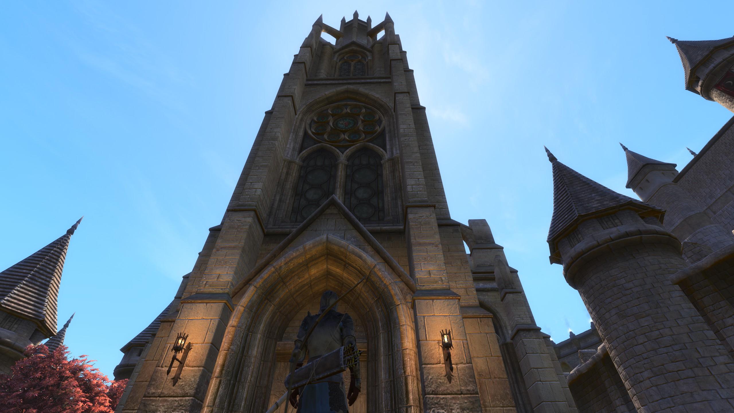 Dentro de Skyblivion, el remaster de Oblivion se desarrolló en Skyrim 20